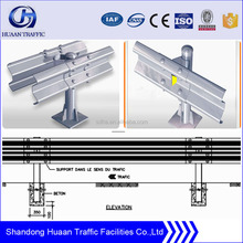 Aashto m180 galvanized steel highway guardrail prices in China