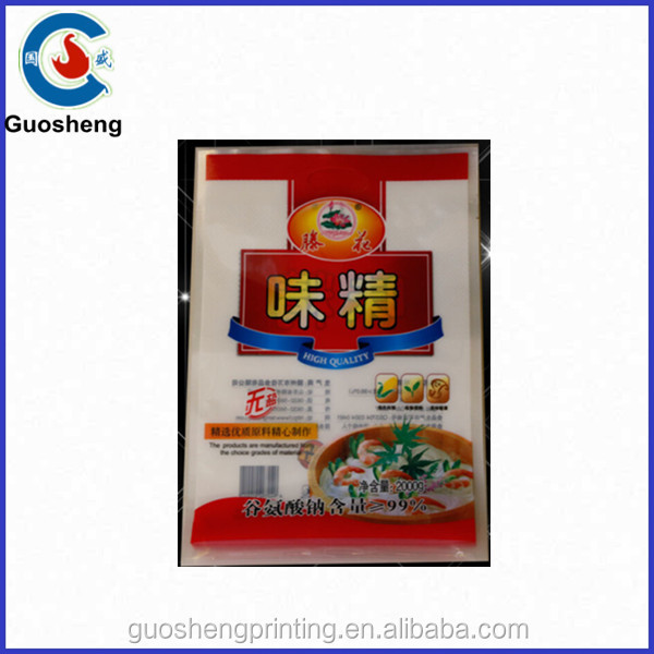 Alibaba china !Chicken powder bag/MSG packing/Plastic flavoring bag made in china factory