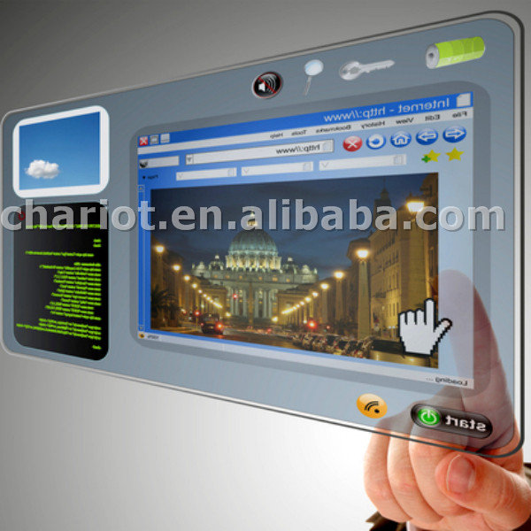 Christmas hot sales! ChariotTech clear lcd displays for different application in China with lowest price