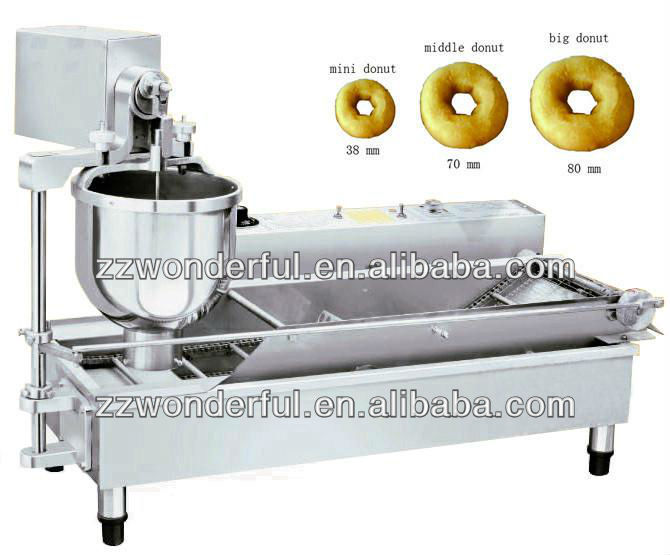 henan wonderful Stainless Steel Donuts Automatic Machine
