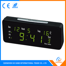 High Quality Factory Price Table Alarm Calendar Day And Date Clock Radio