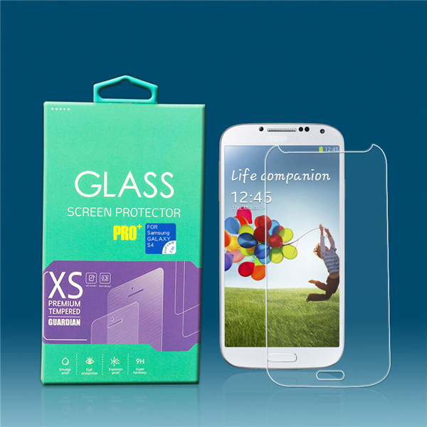 for samsung galaxy S4 i9500 glass film screen protector from OTAO factory , Paypal accepted