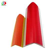 Red Stair Nose Cover Step Nosing Tiles Vinyl Stair Nosing with PVC materials