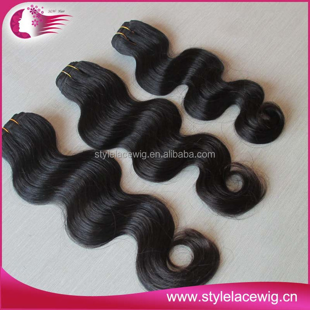100% brazilian virgin remy human hair weaving natrural wave