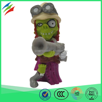 Zombie dolls palstic action figures american made beauty dolls