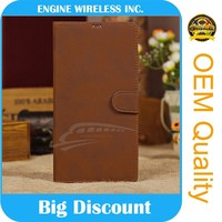new products on china market leather flip case for archos 50 neon