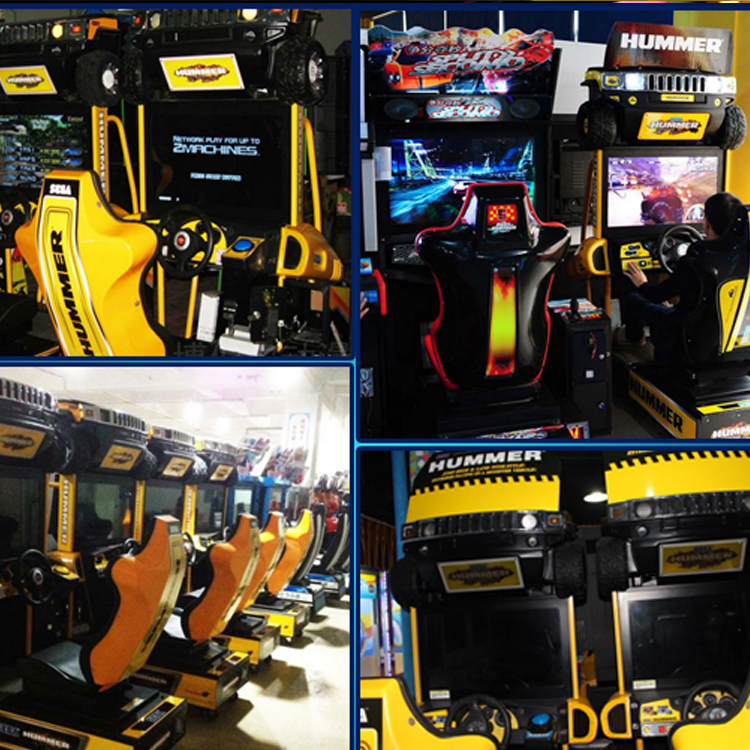 Factory Price Easy Maintenance Hummer Amusement Racing Car Simulator Game,Hummer De Carrera Arcade
