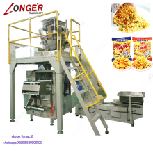 Fully Automatic Mushroom Pulses Frozen Vegetable 5 Kg Cooked Rice Packaging Automatic Weight Packing Machine