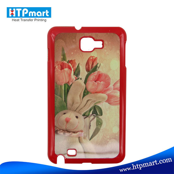 2D pc blank sublimation phone case for samsung galaxy note gt-n7000 i9220 back cover