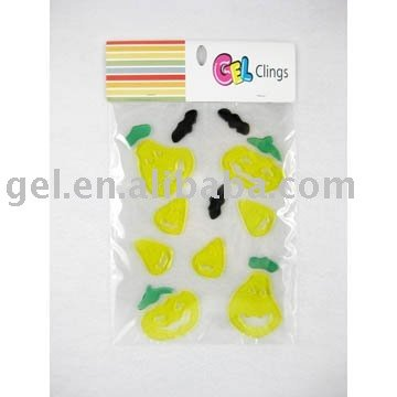 Handmade Window Gel Sticker Halloween gel cling