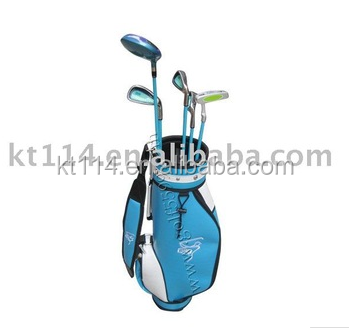 2017 New Design Cute Junior Golf Club Set with Golf Bag