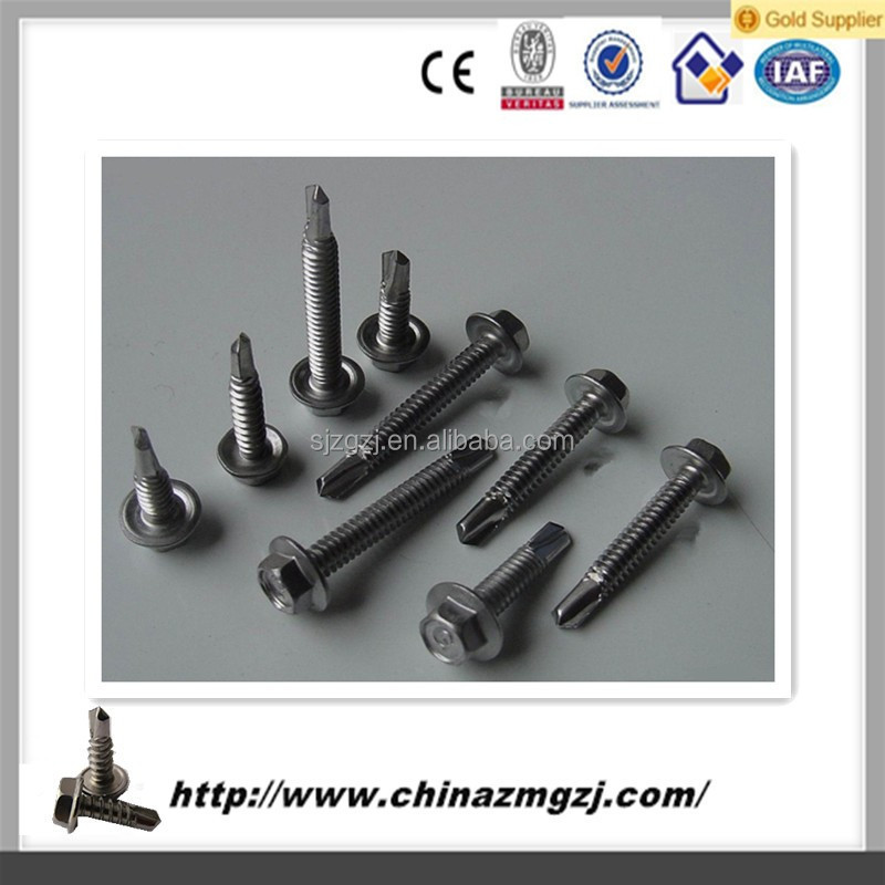 Galvanized cross pan head self tapping screw from factory