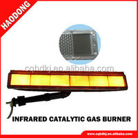 Flameless Gas Infrared panel heater/burner for tunel