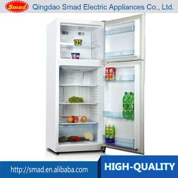 Home use LCD display screen combi refrigerator freezer