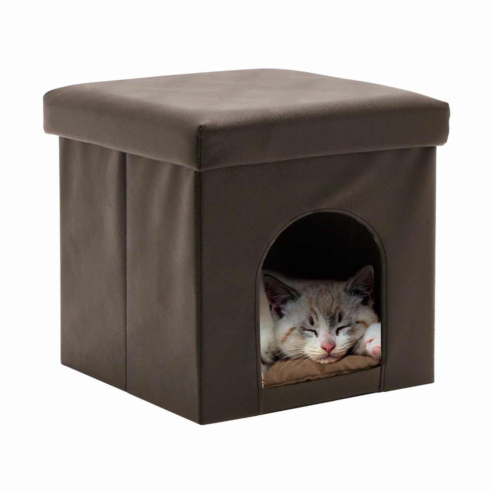 New Design Damp Proof Collapsible Cat Cube House