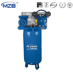 Vertical stable belt driven electric motor air compressor for sale