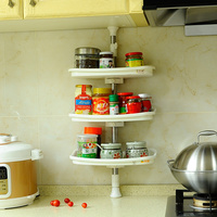 BYN hanging spice rack set instead of wall mounted metal spice rack