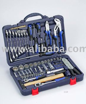 "99 pcs 1/4"" & 1/2"" Dr. Socket and Tool Set - Hand Tools"