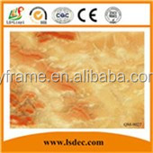 High glossy flame retardant waterproof pvc transparent inkjet printing sheet pvc flexible plastic sheet 2mm