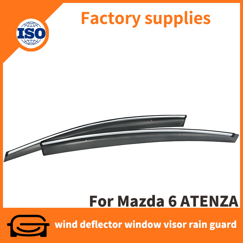 Car accessories window deflectors rain guard door visor for Mazda 6 Atenza 2014-