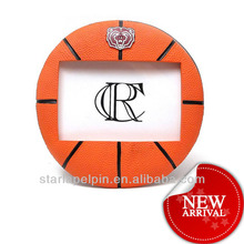 basketball photo frame in soft PVC
