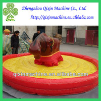 2014 hot sale inflatable mechanical bull for sale
