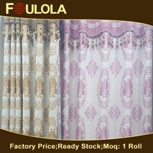 Polyester Sell Well Stripe Jacquard Fabric Curtain Flower Jacquard Knitting Fabric
