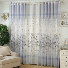 Home decor custom ink bamboo painted door curtains