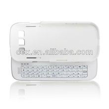 2013 NEWEST Slide Wireless Bluetooth 3.0 Sliding Wireless Keyboard With Backlit Hard shell for Samsung Galaxy S3 i9300-white