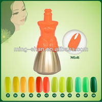 No.41 Poland Cosmetic Beauty Choices Finger Nails Colored Led Gel Polish