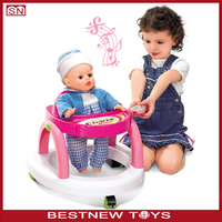 infrared remote control baby doll walker with music