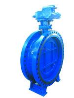 API 609 Standard tripe offset Butterfly Valve manufacturer in China