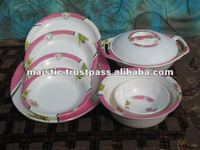 Melamine Dinner Set STONE 5