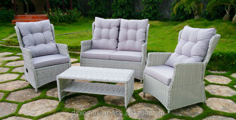 Relax Comfortable Garden Rattan Furniture Sofa Set