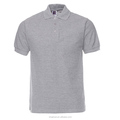 Wholesale Men's Cotton Custom Brand Logo Short Sleeved Plain Polo Shirts