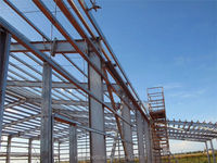 steel structure shopping hall