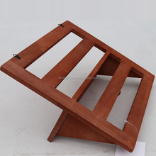 2017 Low price oak folding magazine rack