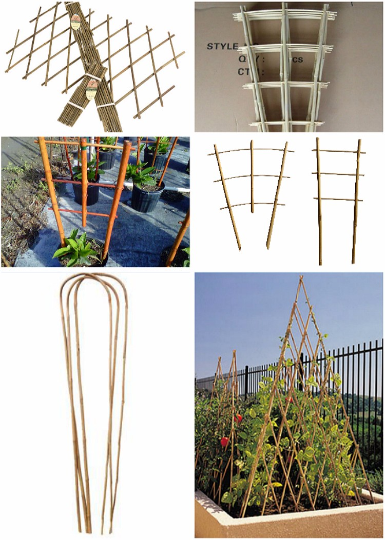 Natural Bamboo Folding Fence for Garden Decoration