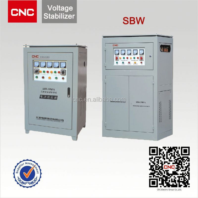 AC Current SBW 30kva 3 phase voltage stabilizer