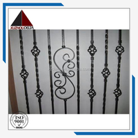 Classical Wrought iron stair railing for decoration