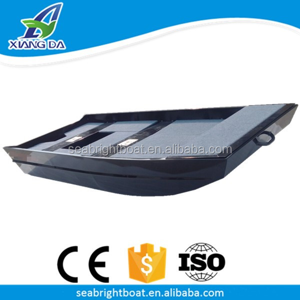 CE Certificate High Qualtiy China Flat Bottom Welded Aluminium One Person Fishing Boat for Sale
