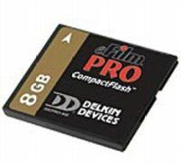 Delkin Compact Flash Pro Compact Flash Memory Card 8 Gb