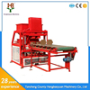 hydraform red clay brick making machine HBY4-10 Selling from Hongbaoyuan Machinery Supplier
