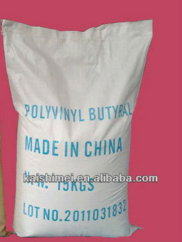 Polyvinyl butyral resin (PVB resin) low viscosity