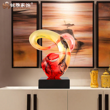 Guangzhou decorative abstract sculpture for home decor arts and resin crafts