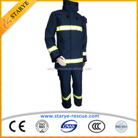 100% Aramid CE EN469 Standard Firefighter Suit