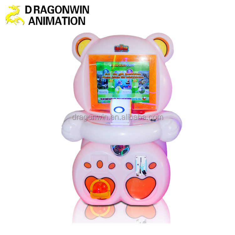 arcade game console Go fishing game machine for kids