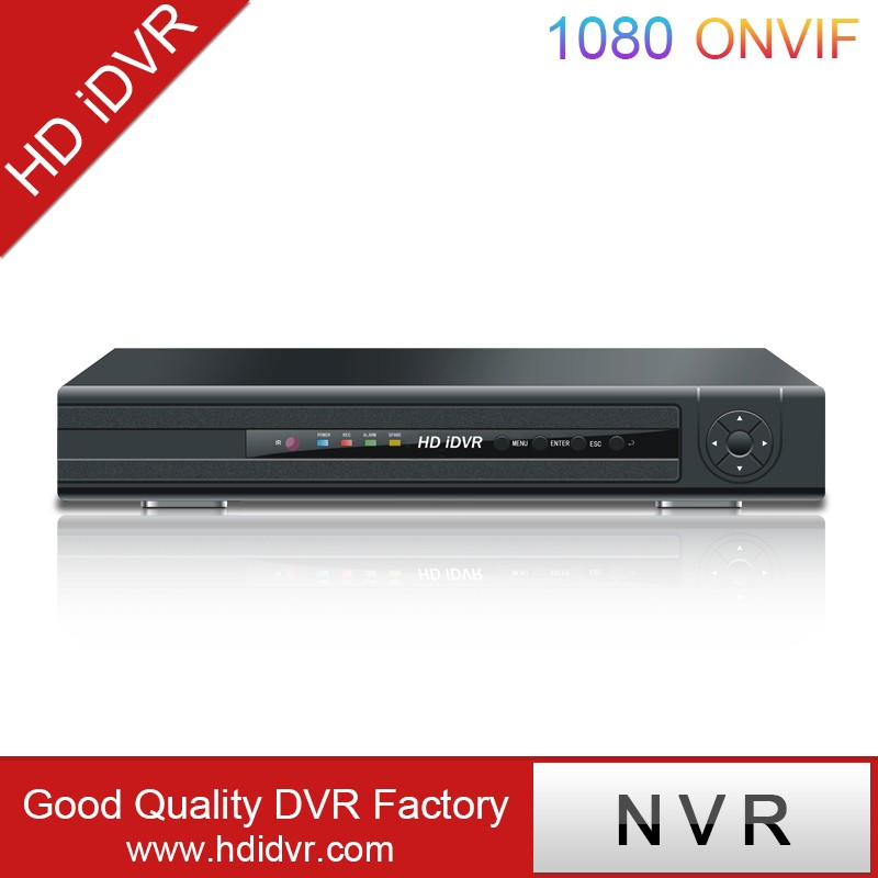 HD DVR 4mp Security NVR Built-in 16CH POE Switch Support 29 Languages NVR for IP Camera