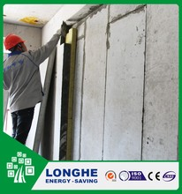 Longhe recycled materials cement board frp and polyurethane foam sandwich panels