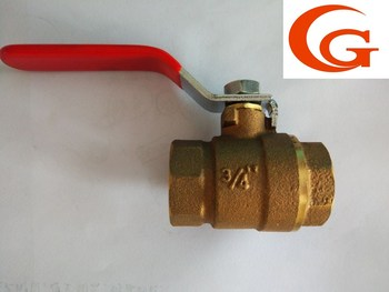 Widely Used Brass Bronze Ball Valve for Water Meter 3/4''